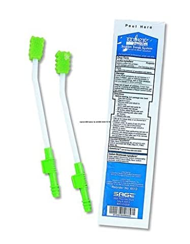 Toothette Plus Suction Swab Single-Use System SAGE PRODUCTS . by