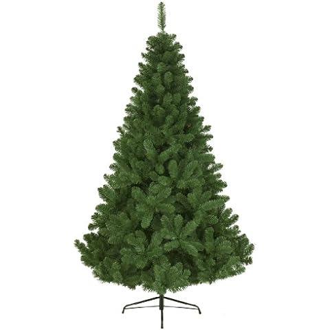Kaemingk 680311 - Árbol de Navidad artificial, PVC, 150cm, color verde