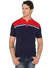 Donear NXG Blue Colour Solid T-Shirt
