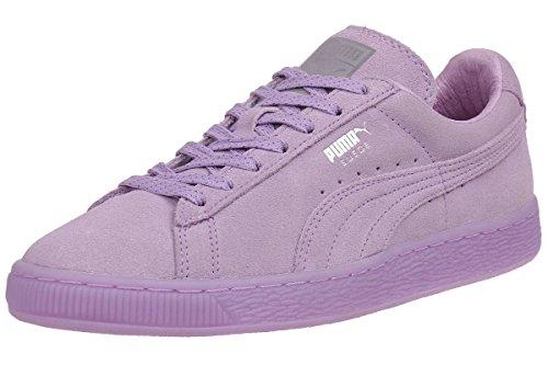Puma Suede Classic Mono Ref Iced Damen Sneaker Schuhe Leder 362101 01, Schuhgröße:EUR 39 (Lila Suede Puma)