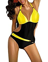 Maillots Une Pièce Femmes Maillots de Bain Bikinis Halter Dos Nus Sexy Maillot String Swimming Suits Beachwear