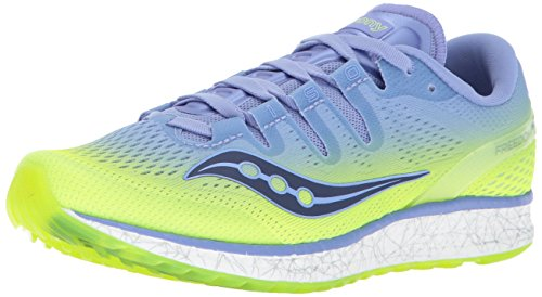 Saucony Freedom ISO, Chaussures de Fitness Femme Citron Purple