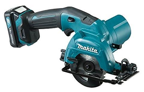 Makita HS 301 DWAE 10,8 V Akku Handkreissäge im Koffer + 2 x BL 1020B 2,0 Ah Akku + DC10WC