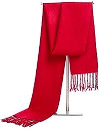 IWG Écharpes de laine d écharpe de cachemire d hiver des hommes, cadeau ec0289557f5