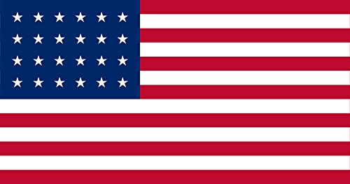 magFlags Bandiera Large US flag 24 stars 90x150cm