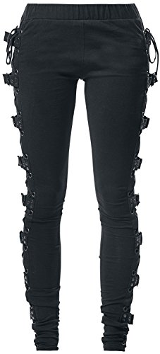 Gothicana by EMP Black Rock Leggings Leggings nero XXL