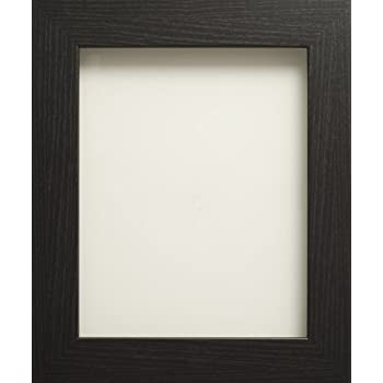 modern black high quality wooden picture photo print frame 8 x