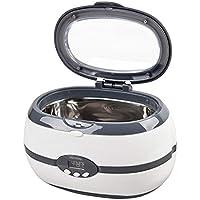Limpiador ultrasónico, profesional Limpiador industrial por ultrasonidos con calefacción de 600 ML con temporizador.