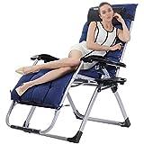 ZDY Klappstuhl Klappbarer Rückenlehnenkomfort Büro Mittagspause Stuhl Tragbarer Außenklappbett Stuhl Einstellbar Nickerchen Begleitstuhl Bett Freizeit Strandkorb