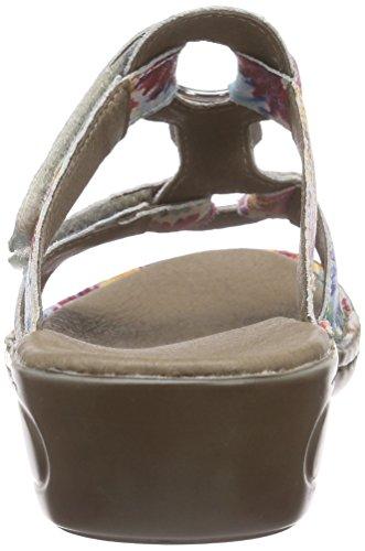 Ara - Hawaii, Pantofole Donna Multicolore (Mehrfarbig (multi 16))