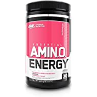 Optimum Nutrition Amino Energy Pre Workout Energy Performance Supplement with Beta Alanine, Caffeine, Amino Acids and Vitamin C. Performance Supplement by ON - Watermelon, 30 Servings, 270g