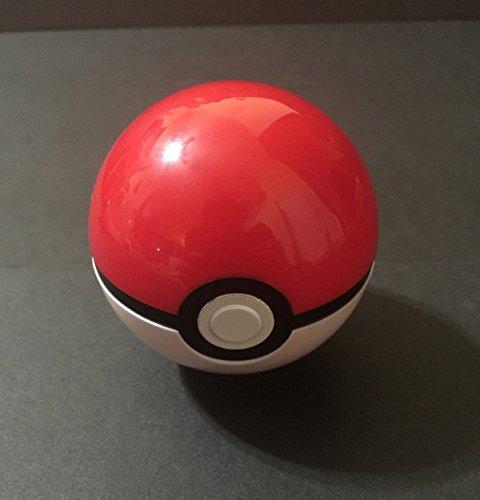 7cm Pokemon Pokébälle Pocket Monster Toys Balls Collection Ash Ketchum Cosplay Pokeballs (Rot) + Pikachu Mini Figur