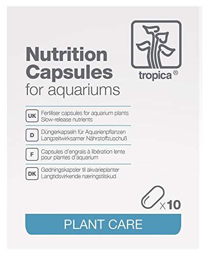 Kapsel-pinzette (Tropica 10 Düngekapseln Nutrition Capsules - Düngung für Aquarienpflanzen)