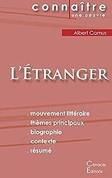 Fiche de lecture L'Etranger de Albert Camus (Analyse Littéraire de Référence)