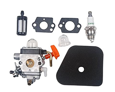 Beehive Filter Carburateur with Filtre à Air Primer Bulb Gasket Spark Plug Kit for STIHL FS87 FS90 HL90 FS100 HL100 FS110 Trimmer