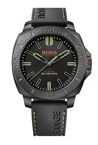 Hugo Boss Orange Mens Quartz Watch, Analogue Classic Display and Rubber Strap 1513254