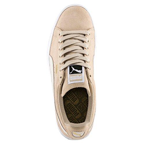 Puma Suede Classic, Sneakers Basses Femme, Cameo Braun Beige (Safari-white)
