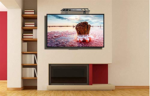 Price comparison product image Bracket Household Wall Tv Set Top Box Shelf Free Punching Cold Rolled Steel Tv Partner Set-Top Box Rack Rack 26-50 InchWall Hanging