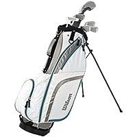 Wilson Pro Staff HDX Graphite - Juegos de golf para mujeres GRA LRH 1/2, barras de grafito, mano derecha (WGG120003)