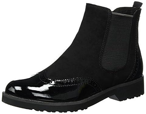 Marco Tozzi Damen 25496 Chelsea Boots, Schwarz (Black Comb), 40 EU