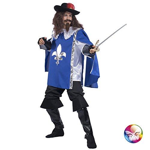 Unbekannt Aptafêtes–cu060616/54–56armais Hose Kostüm mit Umhang und Handschuhe–Größe ()