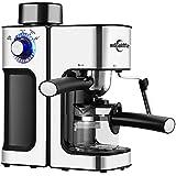 ماكينه اسيبريسوـ ماكينة صنع القهوة Edoolffe - بقابس بريطاني ، بتصميم عملي مميز