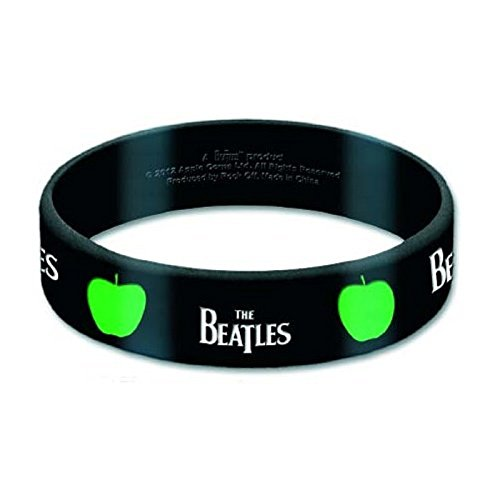 official-the-beatles-drop-t-and-apple-new-10mm-rubber-wristband