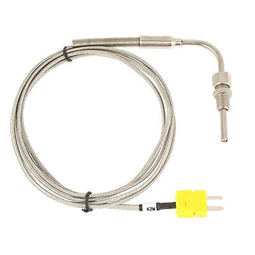 EGT Thermoelement, Typ K Thermoelement Auspuff Sonde Temperatur Sensor oder Controller mit ausgesetzt Tip & Connector, Typ K Temperatur Sonde Sensoren -