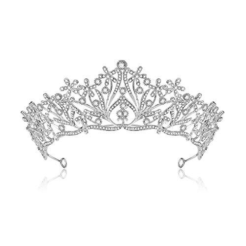Krone Hochzeit Stirnband Fashion Western Schmuck Tiara Princess Queen ()