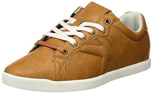 Kelme K-City, Baskets Basses Mixte Adulte Marron (Cuero)