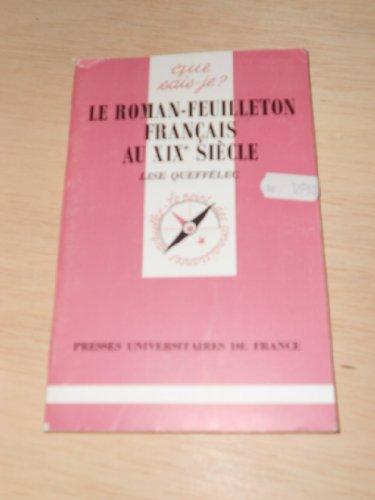 Le Roman-feuilleton français au XIXe siècle