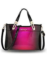 43e98c4b99060 Quality Satchel Fashion Designer Inspired Patent Shoulder Crossbody Handbag  for Ladies Women