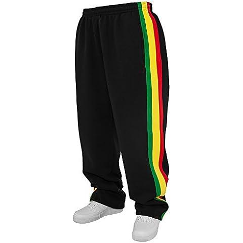 Urban Classics TB125 Rasta Sweatpants Pantalone Tuta uomo BLACK S