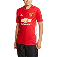 adidas Manchester United FC Official 2016/17 SS Home Jersey - Adult - Red