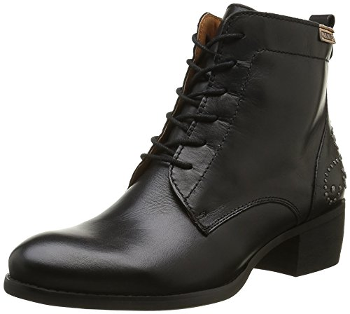 Pikolinos Damen Hamilton W2e_i16 Kurzschaft Stiefel Schwarz (Black)