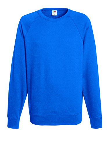 Fruit of the Loom -  Felpa  - Maniche lunghe  - Uomo Blu blu XX-Large