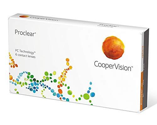 Proclear Sphere / Compatibles Monatslinsen, 6er Packung Kontaktlinsen, Stärke frei wählbar (BC-Wert 8,60 / Dia: 14.2 mm)