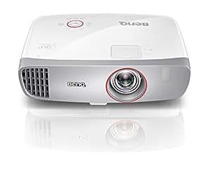 BenQ W1210ST Videoproiettore Home Theater DLP 1080p, Ottica Corta, 2200 ANSI Lumen, Contrasto Elevato 15000:1