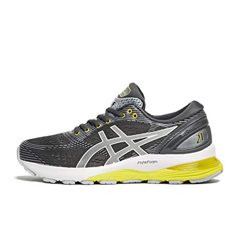 ASICS Gel-Nimbus 21, Scarpe da Running Donna, Nero (Black/Dark Grey 001), 42 EU