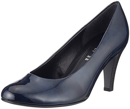 Gabor Shoes Damen Basic Pumps, Blau (Marine 76), 36 EU