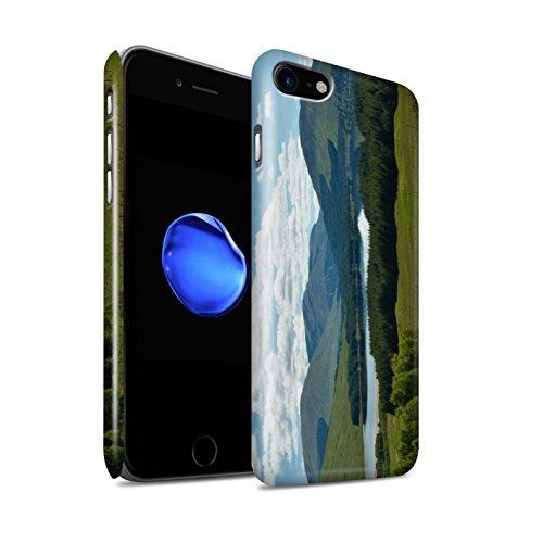 STUFF4 Glanz Snap-On Hülle / Case für Apple iPhone 8 / Pack 14pcs / Schottisch Landschaft Kollektion Gebirge/Loch