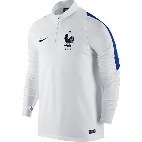 Nike FFF Top Drill Maillot de Football pour Homme