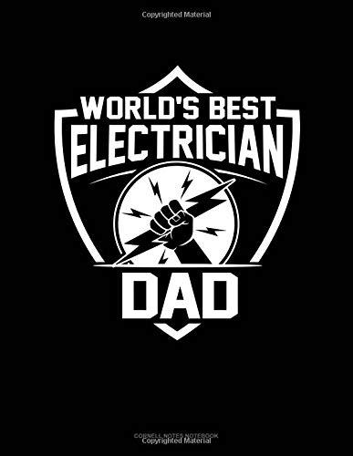 World's Best Electrician Dad: Cornell Notes Notebook por Jeryx Publishing