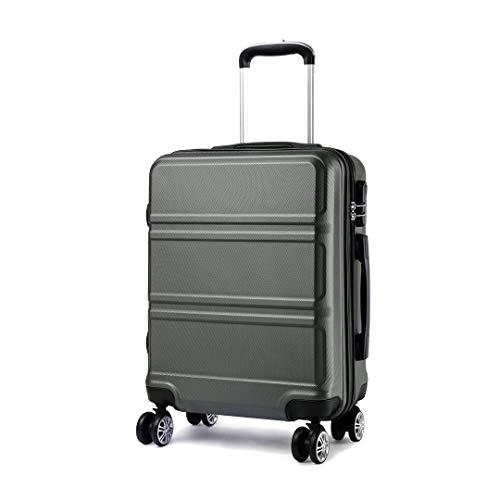 Kono Leggero bagaglio a mano ABS 4 Ruote Valigia Rigida 55x40x22 cm