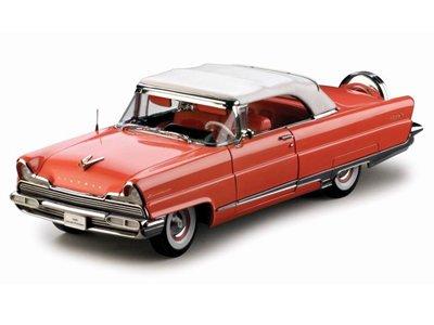 Premiere Coral (Auto Modelle SST 1956 Lincoln Premiere Cabrio geschlossen,Island Coral, 1:18)