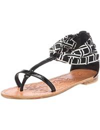 SheSole - Sandalias de Vestir de Material Sintético para Mujer, Color Plateado, Talla 36.5