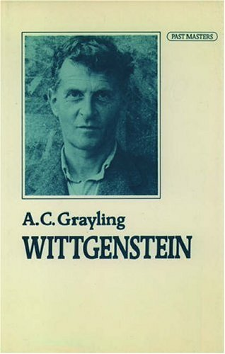Wittgenstein (Past Masters) by A. C. Grayling (1988-03-24)