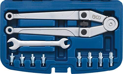 BGS 9602 | Stirnlochschlüssel-Satz | verstellbar | Ø 2,5 - 9 mm