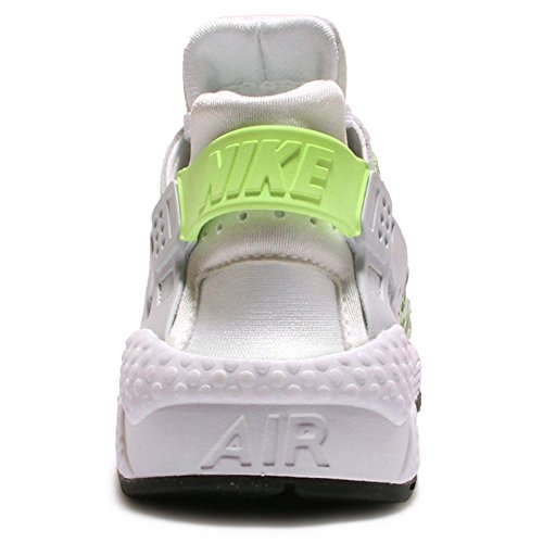 Nike - Wmns Air Huarache Run Prm, Scarpe sportive Donna White/Ghost Green-Pure Platnium