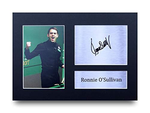 HWC Trading Ronnie O\'sullivan A4 Ungerahmt Signiert Gedruckt Autogramme Bild Druck-Fotoanzeige Geschenk Für Snooker-Fans